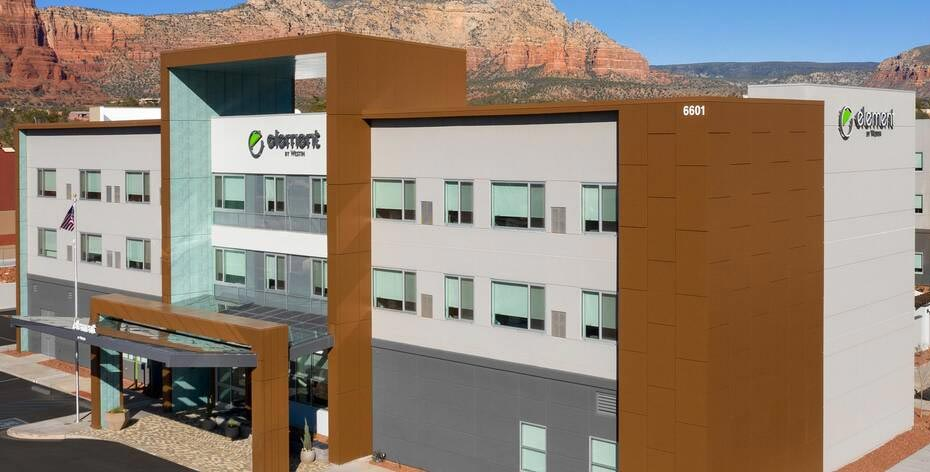 New Marriott hotel in Sedona, Arizona
